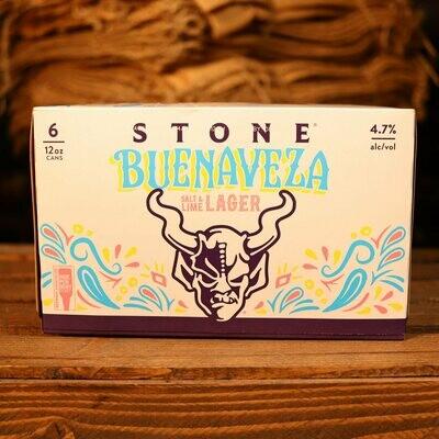 Stone Buenaveza Salt & Lime Lager 12 FL. OZ. 6PK Cans