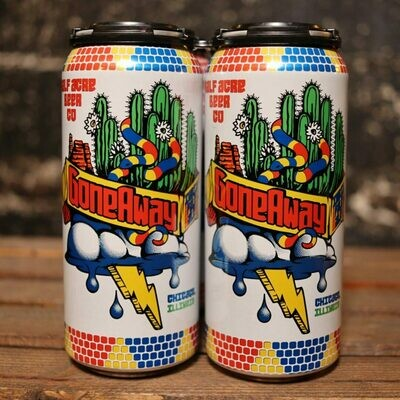 Half Acre Gone Away IPA 16 FL. OZ. 4PK Cans