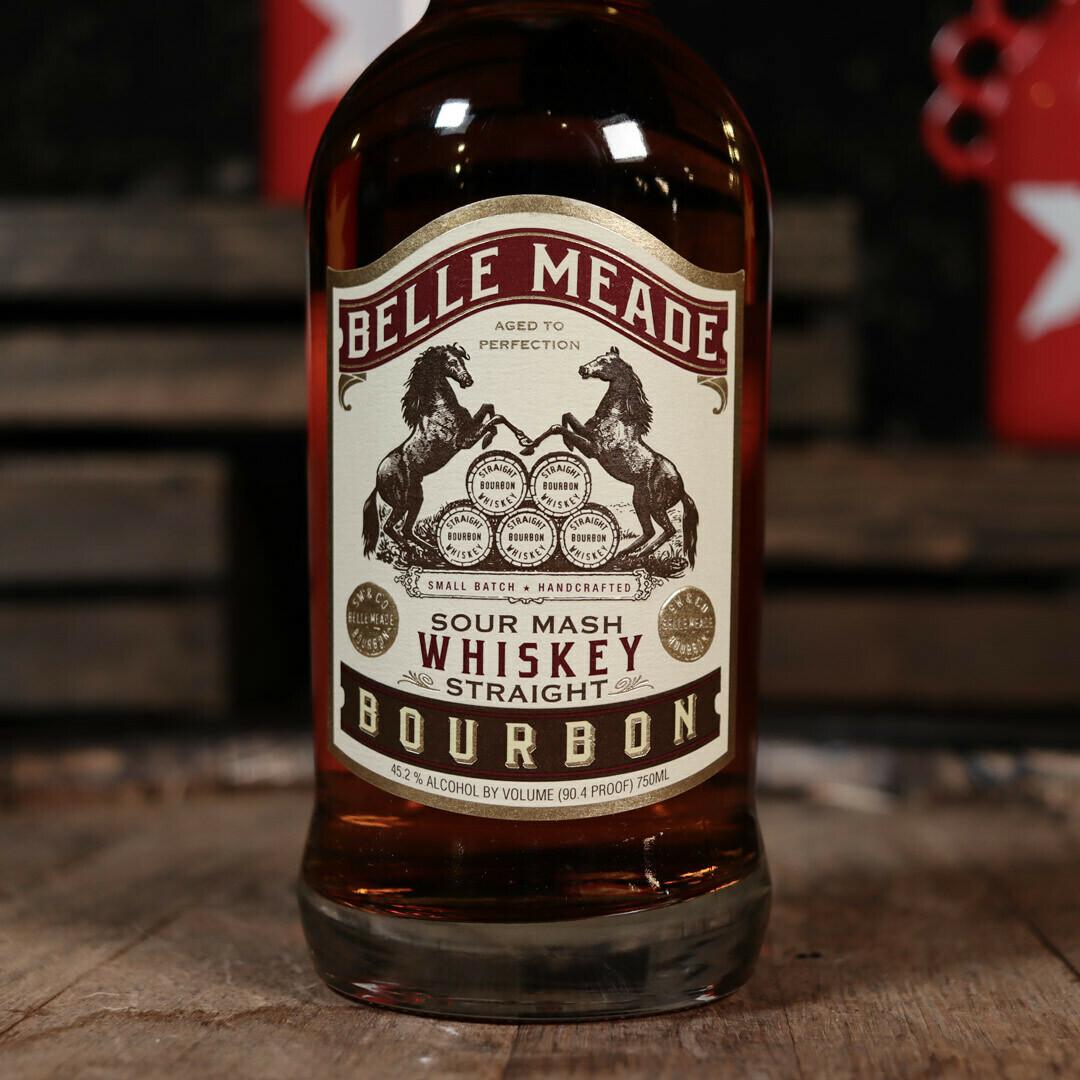 Belle Meade Sour Mash Straight Bourbon Whiskey 750ml.