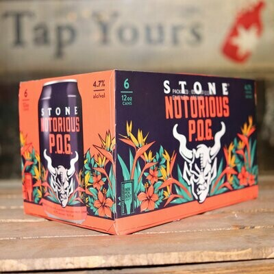 Stone Notorious P.O.G. 12 FL. OZ. 6PK Cans