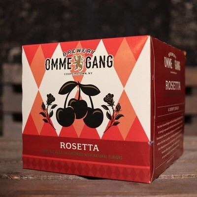 Ommegang Rosetta Sour Ale Aged on Cherries 12 FL. OZ. 4PK Cans