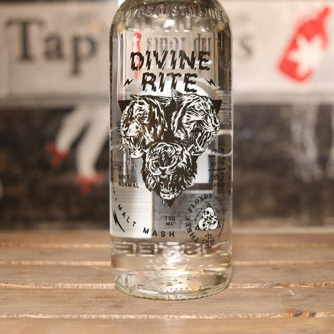 Three Floyds Divine Rite  White Whiskey 750ml.