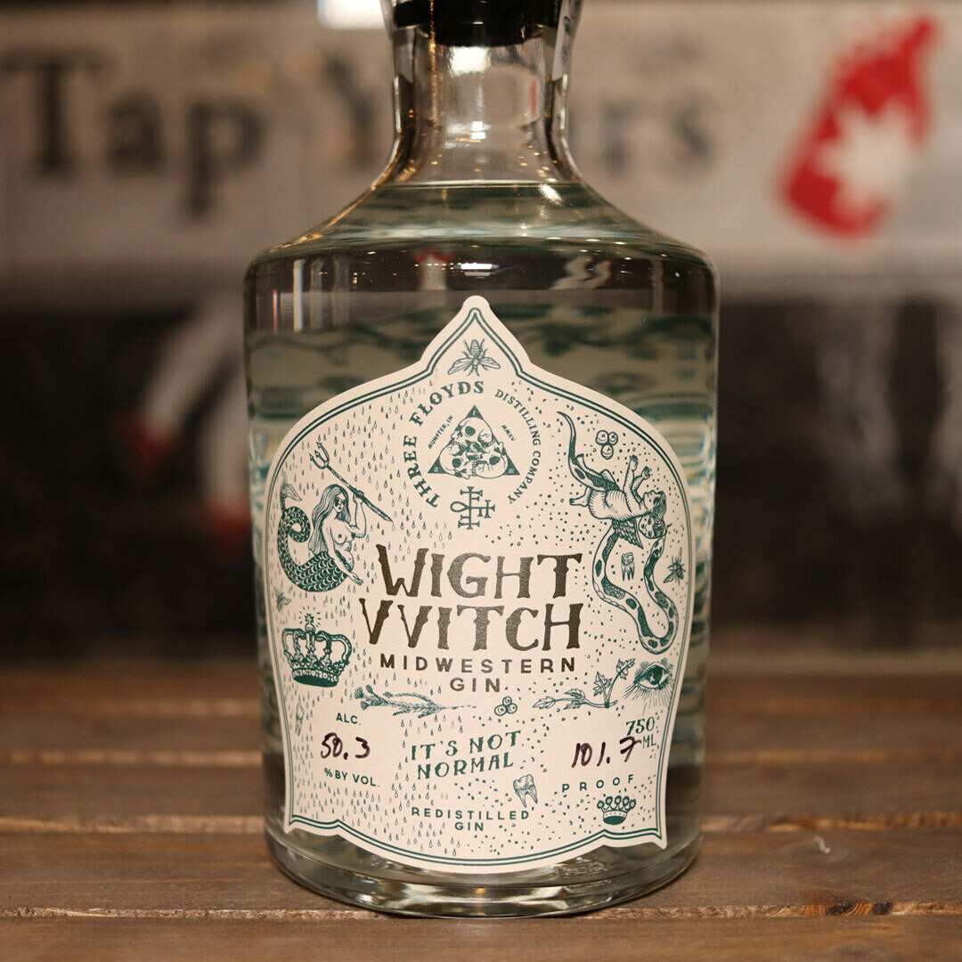 Three Floyds White VVitch Midwestern Gin 750ml.