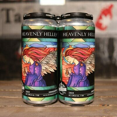 Church Street Heavenly Helles 16 FL. OZ. 4PK Cans