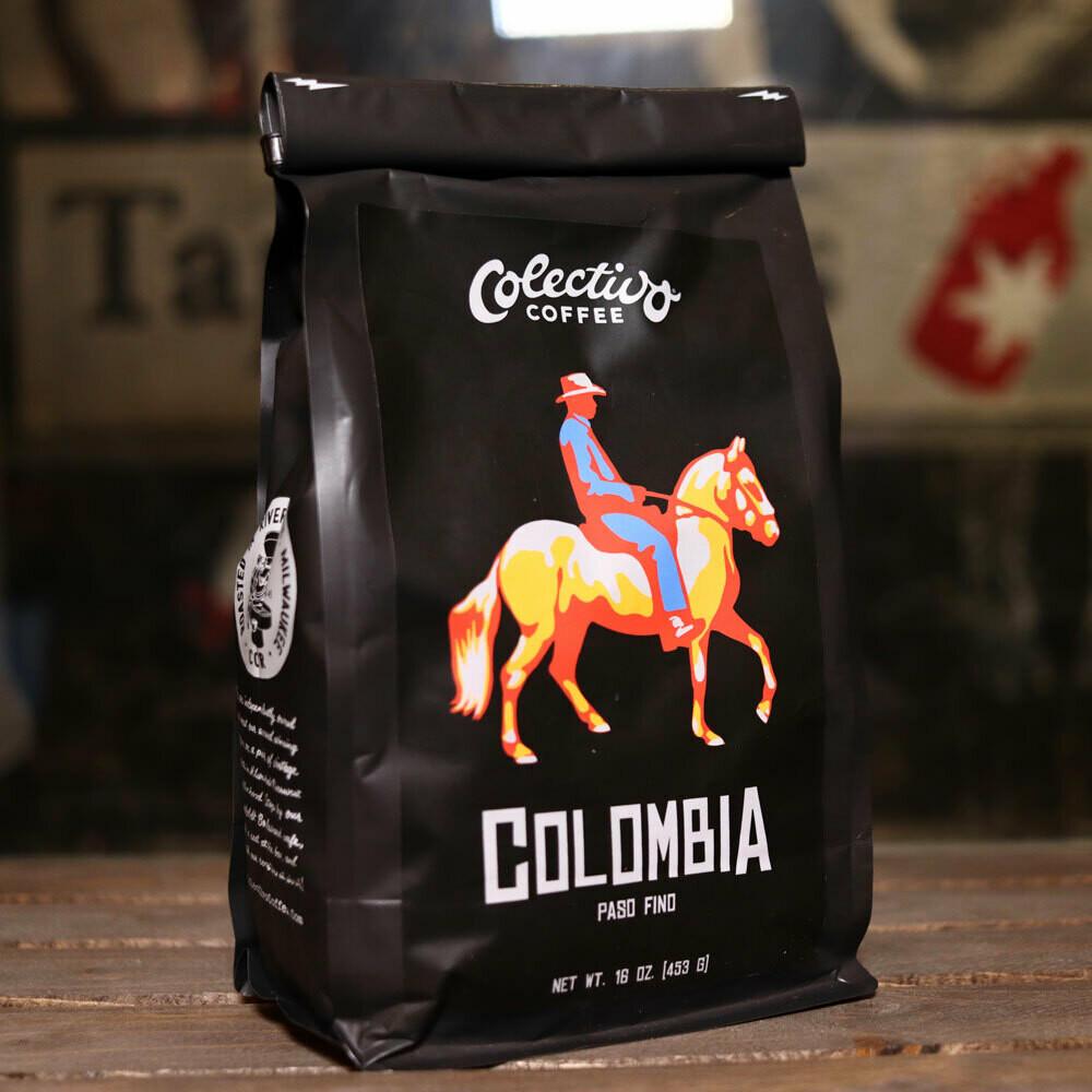 Colectivo Colombia Paso Fino Whole Beans 16 OZ. Bag