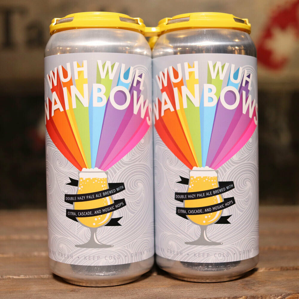 Lil Beaver Wuh Wuh Wainbows Double Hazy Pale Ale