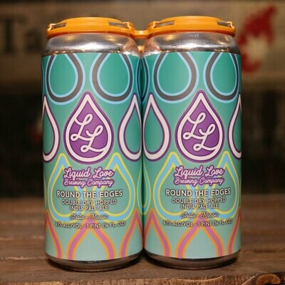 Liquid Love Round the Edges DDH IPA 16 FL. OZ. 4PK Cans
