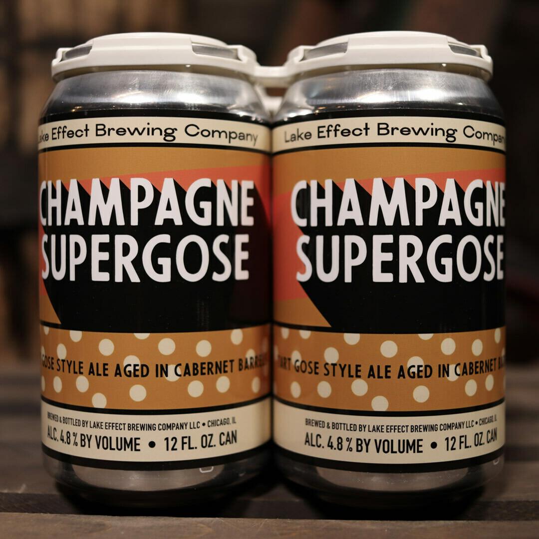 Lake Effect Champagne Supergose 12 FL. OZ. 4PK Cans