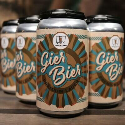 Mob Craft Gier Bier Premium Lager 12 FL. OZ. 6PK Cans