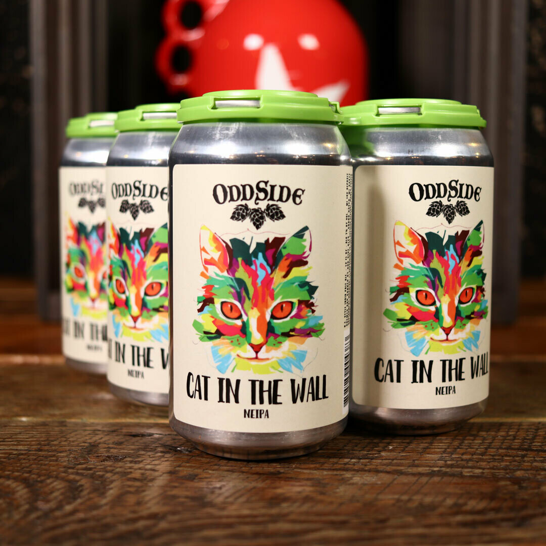 Oddside Ales Cat In The Wall NEIPA 12 FL. OZ. 6PK Cans