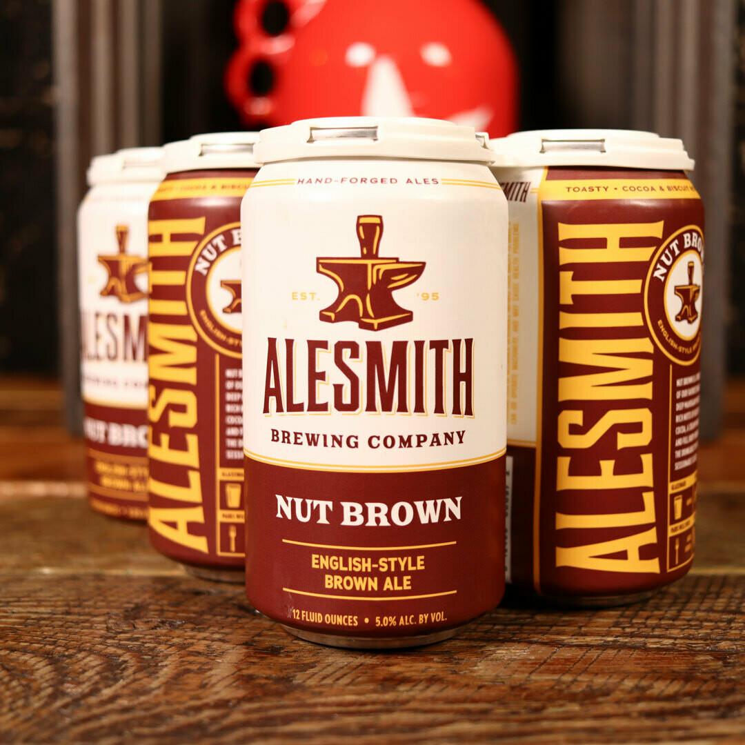 Ale Smith Nut Brown 12 FL. OZ. 6PK Cans