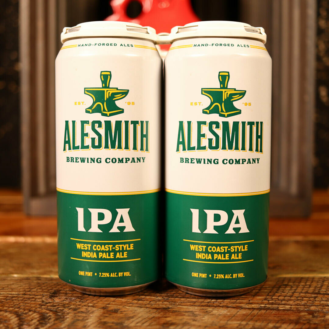 Ale Smith West Coast Style IPA 16 FL. OZ. 4PK Cans