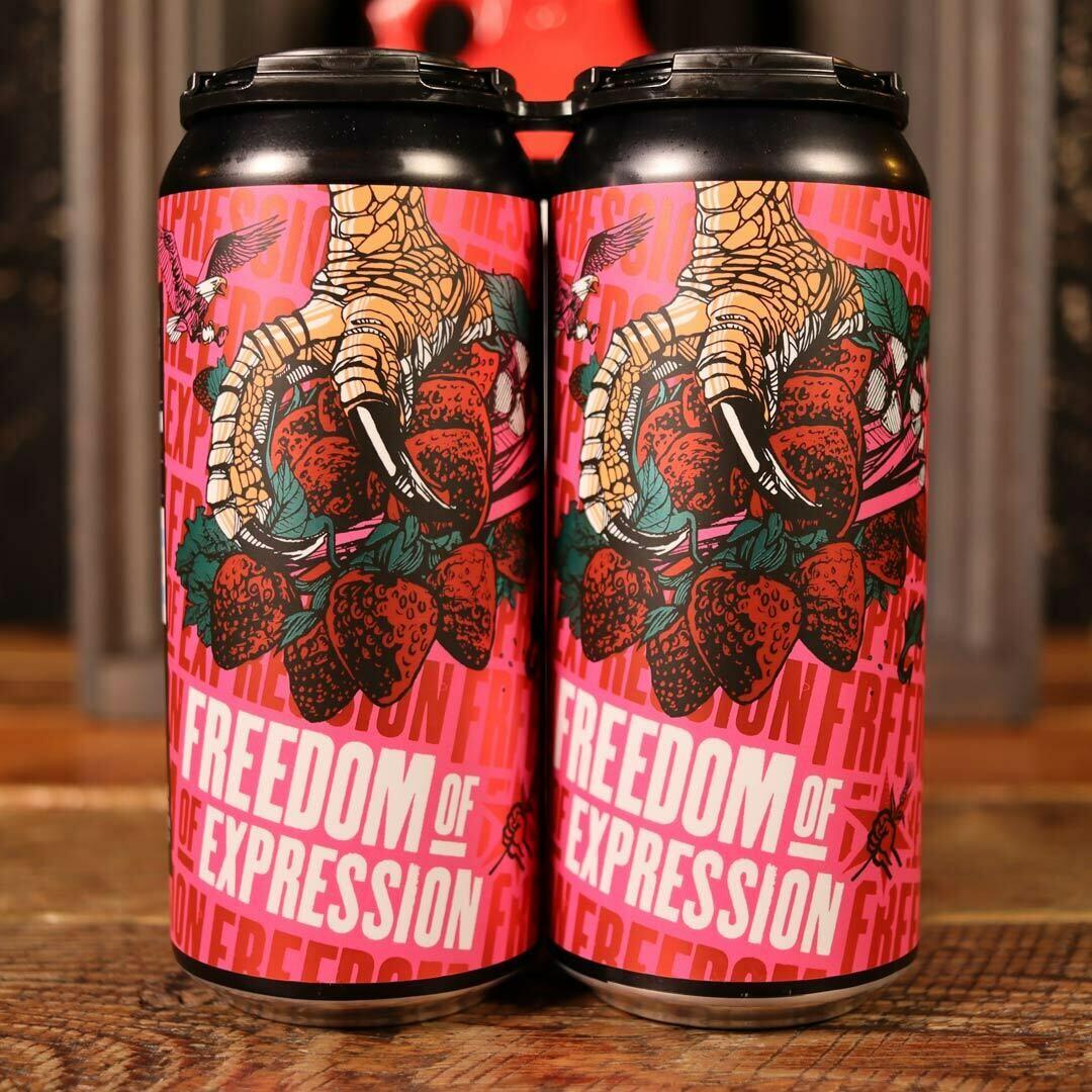 Revolution Freedom of Expression Strawberry/Rhubarb Sour 16 FL. OZ. 4PK Cans