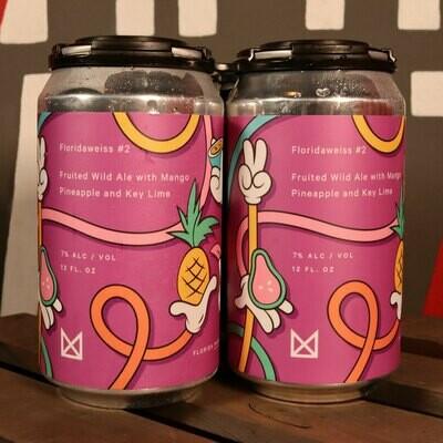 Marz Floridaweisse #2 Fruit Wild Ale 12 FL. OZ. 4PK Cans