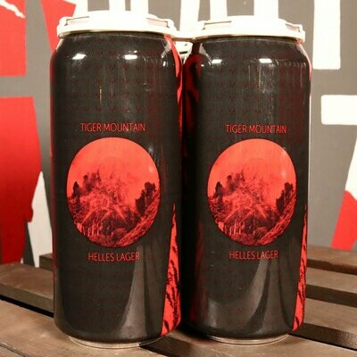 Maplewood Tiger Mountain Helles Lager 16 FL. OZ. 4PK Cans