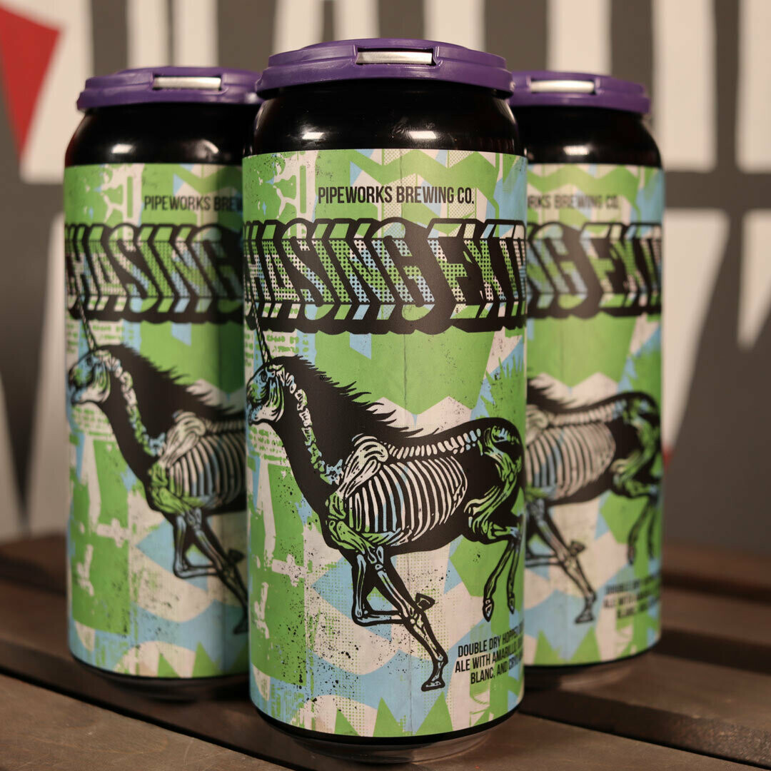 Pipeworks Chasing Extra DDH DIPA 16 FL. OZ. 4PK Cans