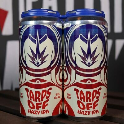 Short Fuse Tarps Off Hazy IPA 16 FL. OZ. 4PK Cans