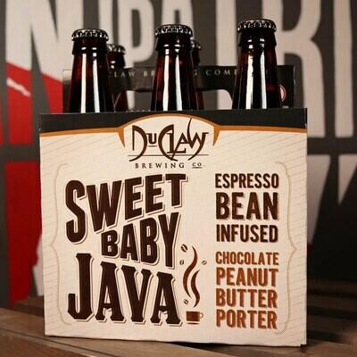 DuClaw Sweet Baby Java! Espresso Bean Infused Chocolate Peanut Butter Porter 12 FL. OZ. 6PK