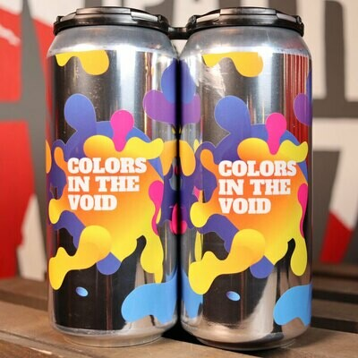 Around The Bend Colors In The Void Hazy DIPA 16 FL. OZ. 4PK Cans