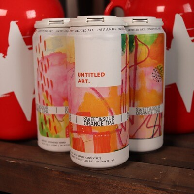 Untitled Art Sweet And Sour Orange IPA 16 FL. OZ. 4PK Cans