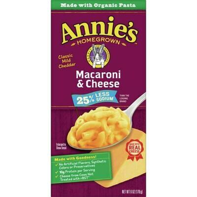 Annie's - Mac & Cheese Classic Mild Cheddar