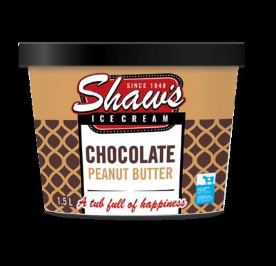 Shaws Chocolate Peanut Butter 1.5ltr