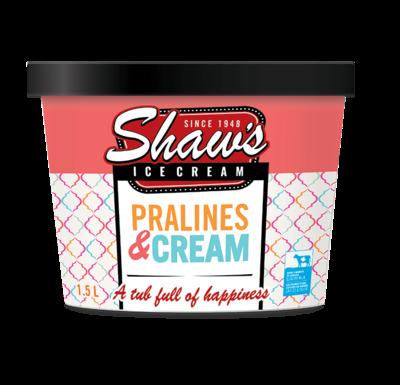 Shaws Pralines 1.5ltr