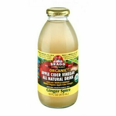Bragg - Ginger (apple cider vinegar drink)