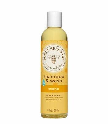 Burt's Bee Baby Shampoo & Wash - Original (235ml)