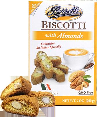 Borrelli - Biscotti w/Almonds