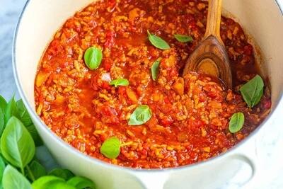 Cara Pasta Meat Sauce