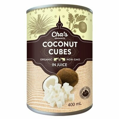 Cha's Coconut Cubes (400ml)