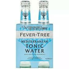 Fever Tree - Mediterranean Tonic Water 4pk