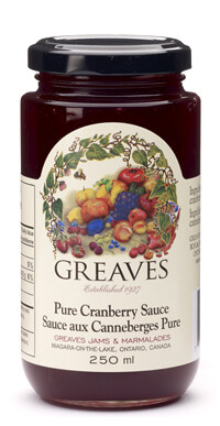 Greaves - Pure Cranberry Sauce