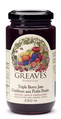 Greaves- Triple Berry Jam