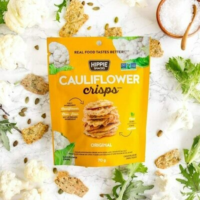 Hippie Foods - Cauliflower Crisps - Original