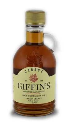 Giffin's 100% Pure Maple Syrup - 250ml