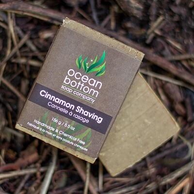 OB WHITE - Cinnamon Shaving Soap