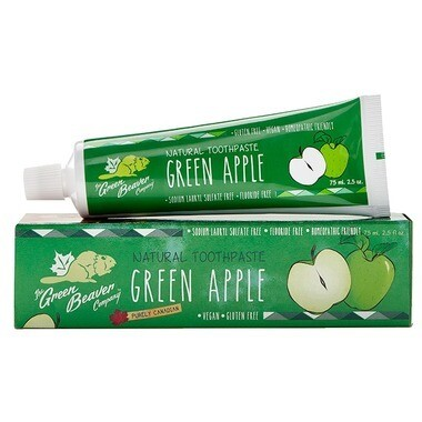 The Green Beaver - Green Apple Toothpaste - 75ml