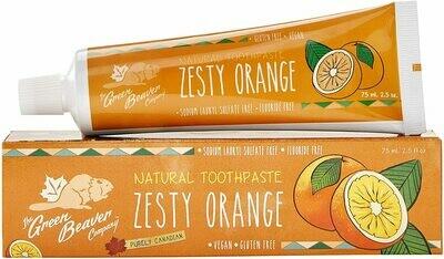 The Green Beaver - Zesty Orange Toothpaste - 75ml