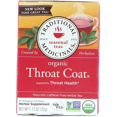 Traditional - Throat Coat - Lemon Encinacea