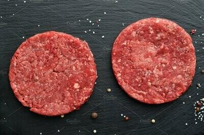Buther of Kingsville - Beef Burgers - Unseasoned - Pkg. 2