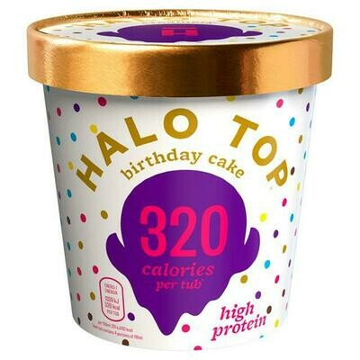 Halo Top - Birthday Cake