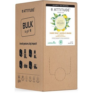 Attitude - Hand Soap 2L Lemon Leaves