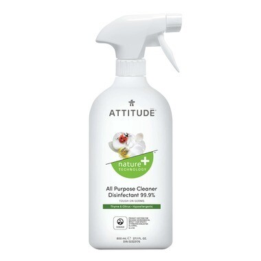 Attitude - Disinfectant 99.9% Cleaner All Purpose - Thyme & Citrus 800ml