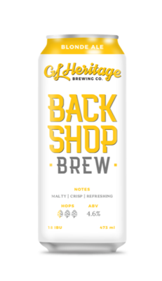GL Heritage - Back Shop Brew (Blonde Ale)