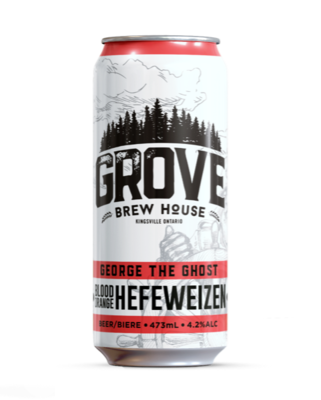 Grove - George the Ghost Blood Orange Hefeweizen