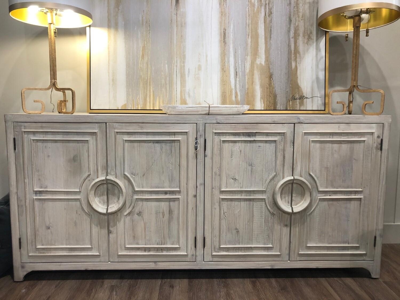 White Wash Sideboard