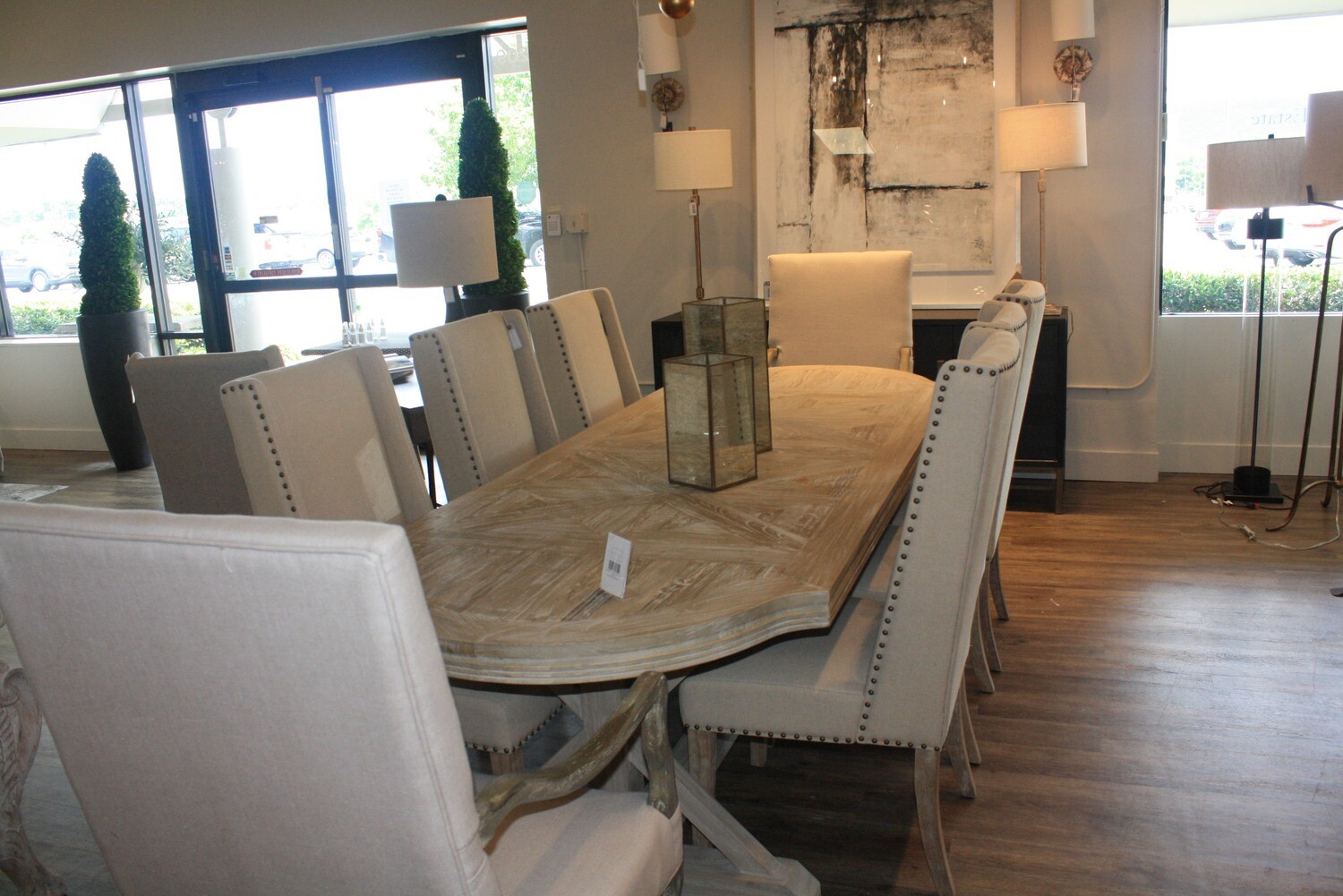 Patterned Dining Table