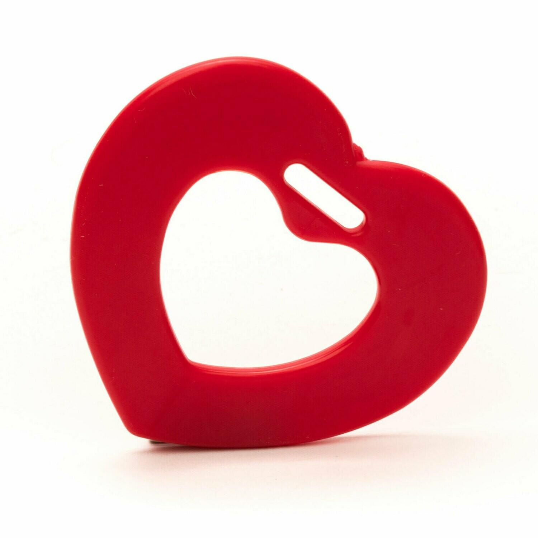 Durable bijtring hart